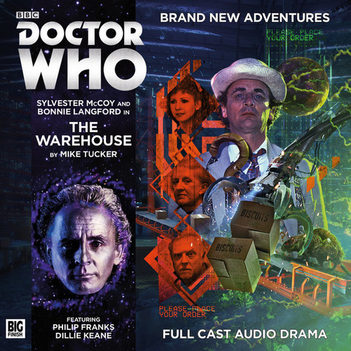 Doctor Who: THE WAREHOUSE - Big Finish 7th Doctor Audio CD #202