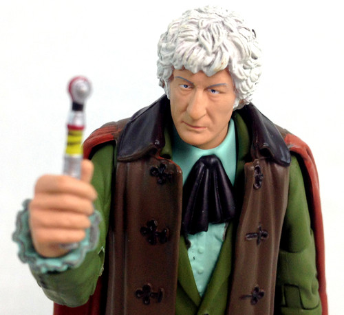 Doctor Who Action Figure - 3rd DOCTOR (Jon Pertwee) - Unpackaged