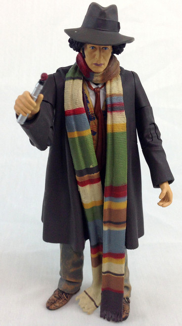 Doctor Who Action Figure - 4th DOCTOR (Tom Baker) - Unpackaged