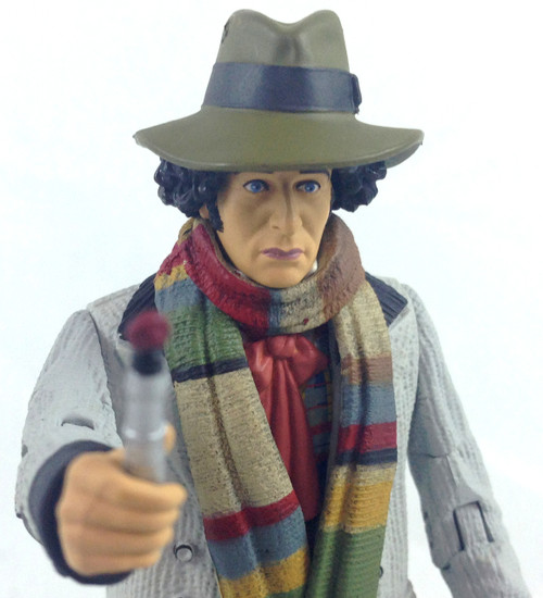 Doctor Who Action Figure - 4th DOCTOR (in light colored coat)(Tom Baker) - Unpackaged