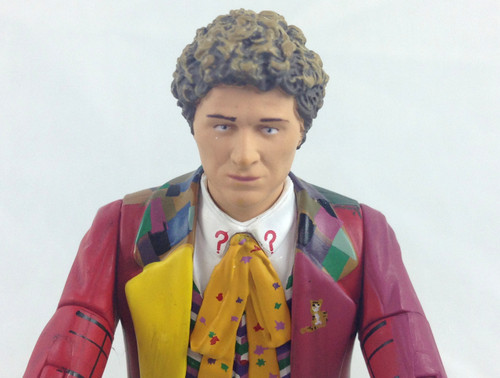 Doctor Who Action Figure - 6th DOCTOR (Colin Baker) - Unpackaged