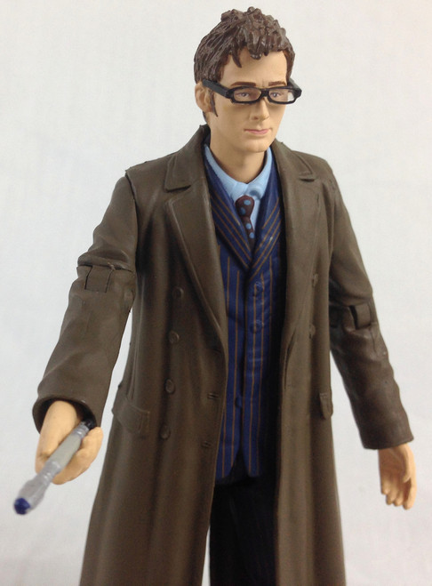 Doctor Who Action Figure - 10th DOCTOR in long coat (David Tennant) - Unpackaged