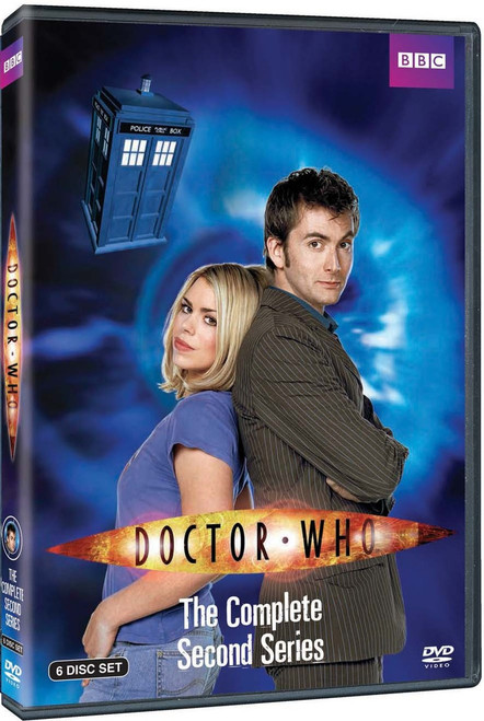 Doctor Who Complete Series 2 DVD Boxed Set - Starring David Tennant as the Doctor