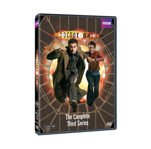 Doctor Who Complete Series 3 DVD Boxed Set - Starring David Tennant as the Doctor