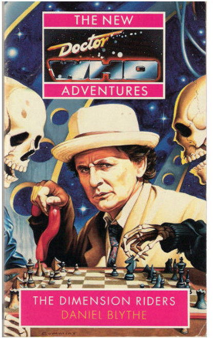 Doctor Who New Adventures Paperback Book - DIMENSION RIDERS by Daniel Blythe