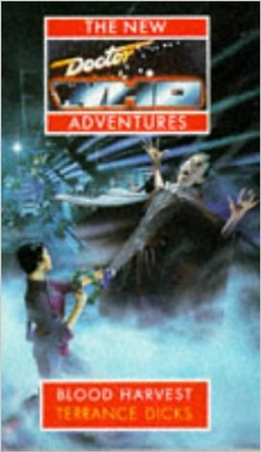 Doctor Who New Adventures Paperback Book - BLOOD HARVEST by Terrance Dicks