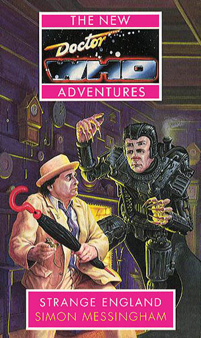 Doctor Who New Adventures Paperback Book - STRANGE ENGLAND by Simon Messingham