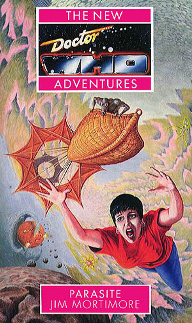 Doctor Who New Adventures Paperback Book - PARASITE by Jim Mortimore