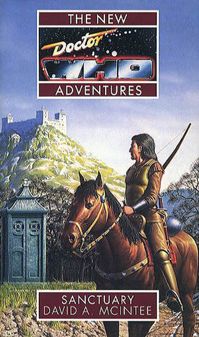Doctor Who New Adventures Paperback Book - SANCTUARY by David McIntee