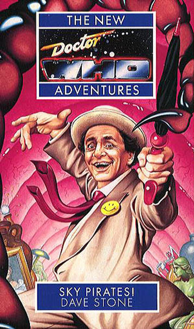 Doctor Who New Adventures Paperback Book - SKY PIRATES by Dave Stone