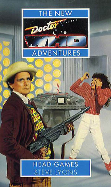 Doctor Who New Adventures Paperback Book - HEAD GAMES (Last few)
