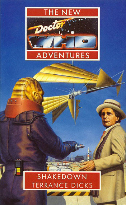 Doctor Who New Adventures Paperback Book - SHAKEDOWN by Terrance Dicks