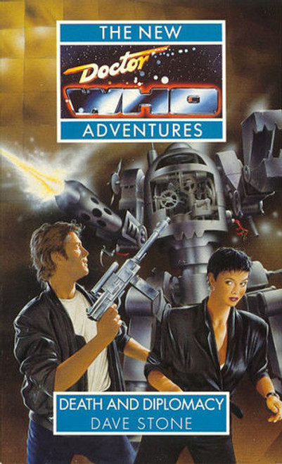 Doctor Who New Adventures Paperback Book - DEATH AND DIPLOMACY by Dave Stone