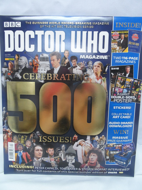 Doctor Who Magazine #500 - Special Anniversary Issue (Factory Sealed)