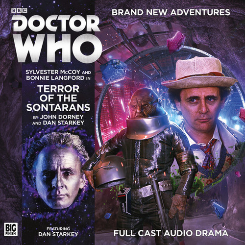 Doctor Who: TERROR OF THE SONTARANS - Big Finish 7th Doctor Audio CD #203