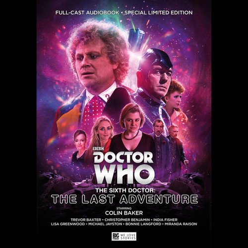 Doctor Who The Sixth Doctor: The Last Adventure (Colin Baker) Audio Drama Boxed Set from Big Finish