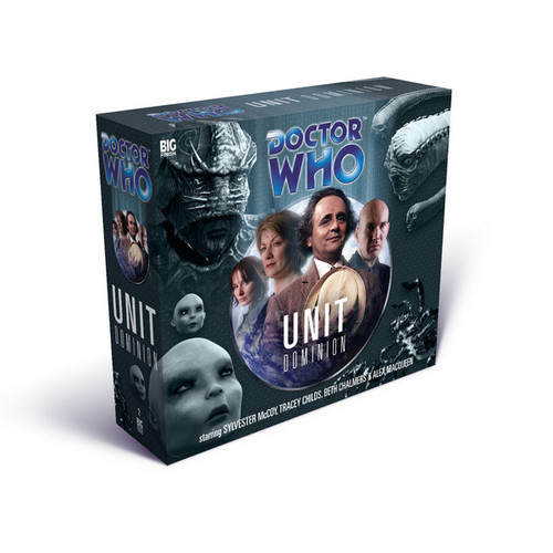 Doctor Who: UNIT: DOMINION - Big Finish Audio CD Boxed Set (7th Doctor Adventures)