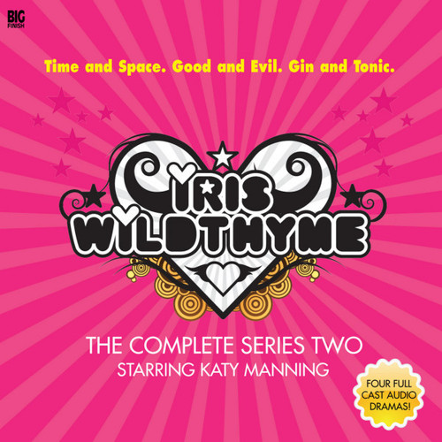 IRIS WILDTHYME: Series 2 - Big Finish Audio CD Boxed Set Starring Katy Manning