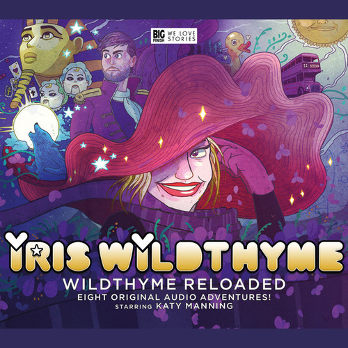 IRIS WILDTHYME: Reloaded 5.0 - Big Finish Audio CD Set Starring Katy Manning