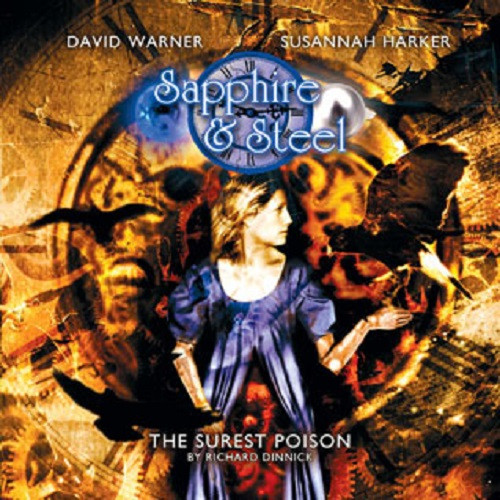 Sapphire & Steel: The SUREST POISON #2.2 - Big Finish Audio CD (Last One)