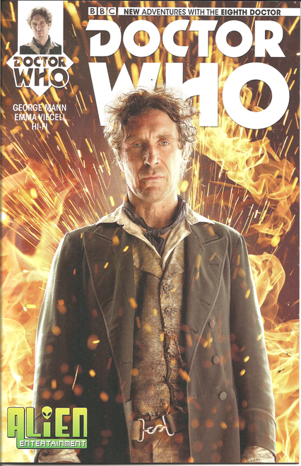 Doctor Who: 8th Doctor Titan Comics #1 - (Alien Entertainment EXCLUSIVE)