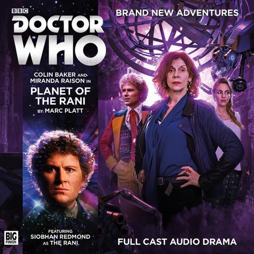 Planet of the Rami Audio CD - Big Finish #205