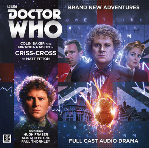 Doctor Who: CRISS-CROSS - Big Finish 6th Doctor Audio CD #204