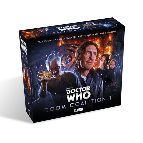 Doctor Who DOOM COALITION #1 Eighth Doctor (Paul McGann) Audio Drama Boxed Set from Big Finish