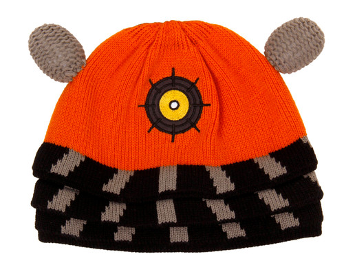 Orange Dalek Beanie Hat