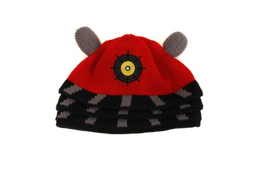 Doctor Who: RED DALEK Beanie Hat