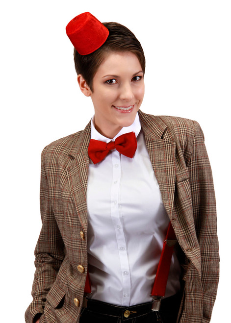 Doctor Who: 11th Doctor Bow Tie and Mini Fez