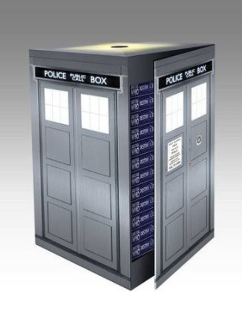 Destiny of the Doctor - Big Finish 50th Anniversary Limited Edition SILVER TARDIS Boxed Set (Last One)