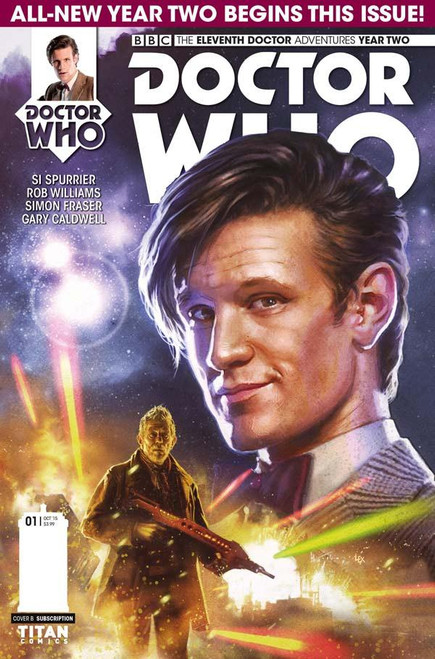 11th Doctor Titan Comics: Series 2 #1