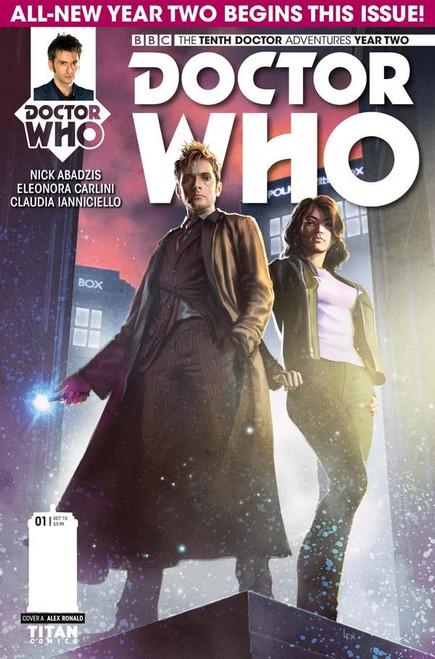 10th Doctor Titan Comics: Series 2 #1