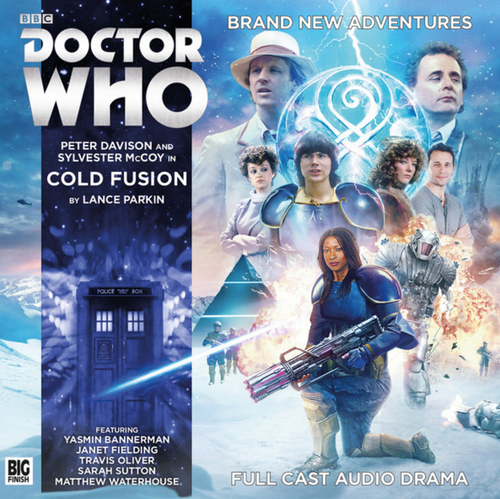 Doctor Who Novel Adaptation: COLD FUSION - Big Finish Audio CD #11