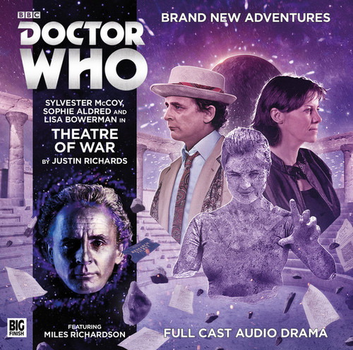 Doctor Who Novel Adaptation: THEATRE OF WAR - Big Finish Audio CD #7