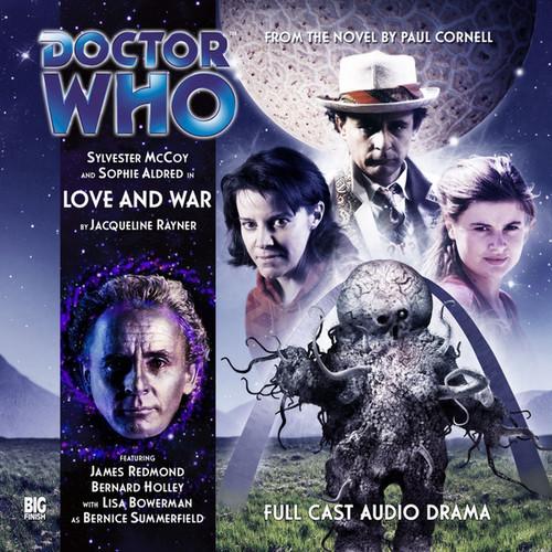 Big Finish Novel Adaptation: Love and War - Audio CD #1