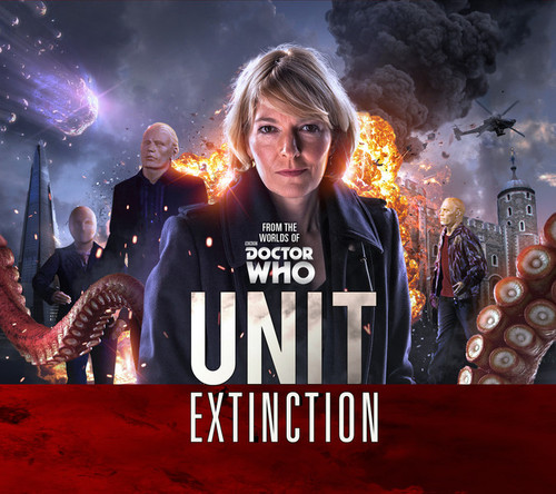 UNIT #1: EXTINCTION - Big Finish Doctor Who Series Audio CD Boxed Set