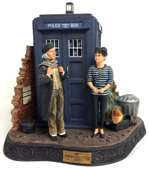 "Doctor Who: 1st Doctor ""An Unearthly Child"" Resin Diorama Statue by Product Enterprise"