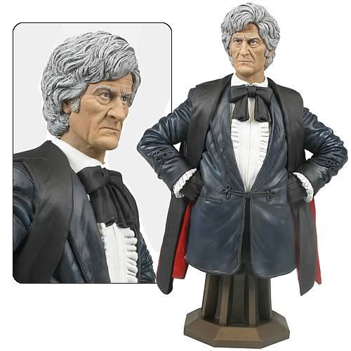 Doctor Who Masterpiece Titan Bust Collection - 3rd DOCTOR - Jon Pertwee