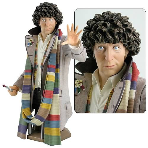 Doctor Who Masterpiece Titan Bust Collection - 4th Doctor  - Tom Baker