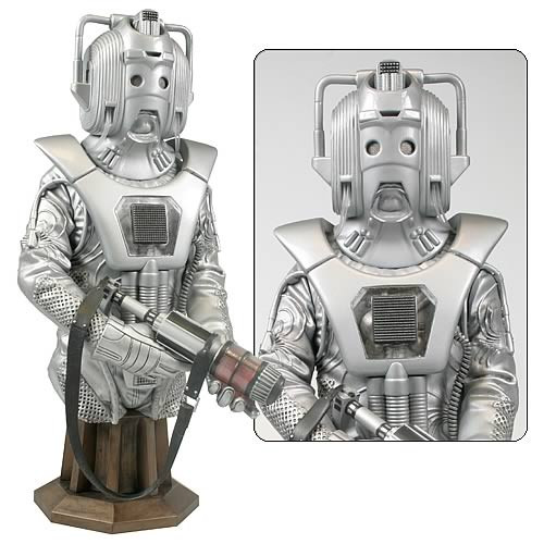Doctor Who Masterpiece Titan Collection Bust - EARTHSHOCK CYBERMAN