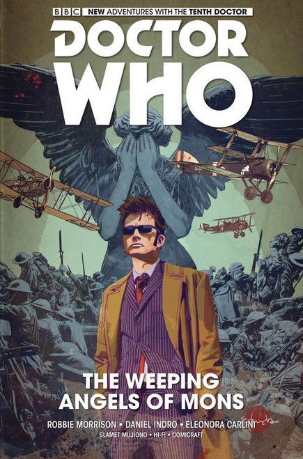 Titan Comics 10th Doctor Vol. 2: The Weeping Angels of Mons