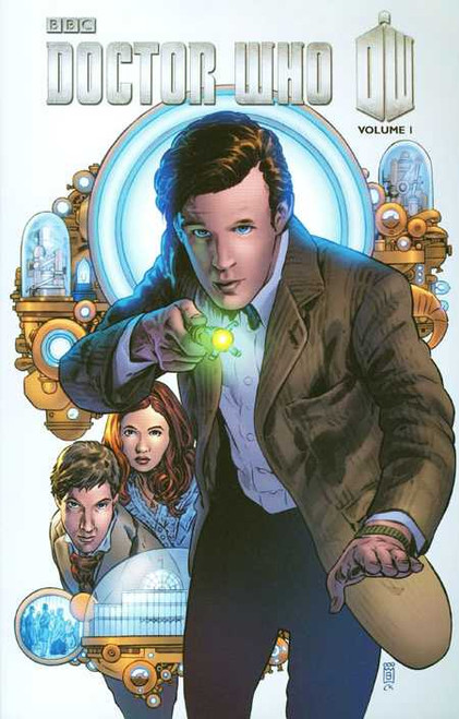 Doctor Who: Series 3, Vol. 1 - THE HYPOTHETICAL GENTLEMAN - IDW Graphic Novel