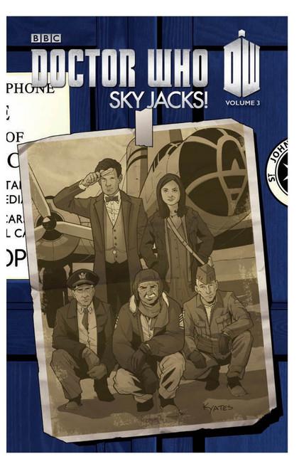 Doctor Who: Series 3, Vol. 3 SKY JACKS! - IDW Graphic Novel