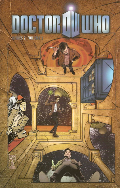 Doctor Who: Series 2, Vol. 3 - IT CAME FROM OUTER SPACE - IDW Graphic Novel
