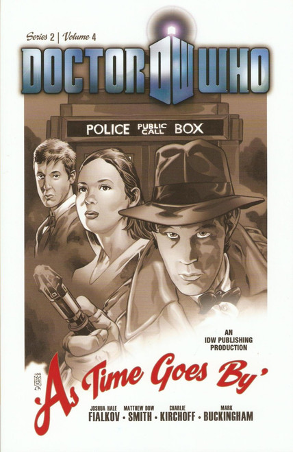 """Series 2, Vol. 4 """"As Time goes By"""" IDW Graphic Novel"""