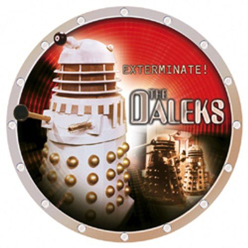 "DALEK UK Exclusive Bone China 8"" Collector's Plate"