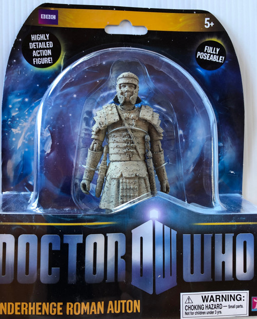 Doctor Who New Series - UNDERHENGE ROMAN AUTON - Series 5 Action Figure - Character Options