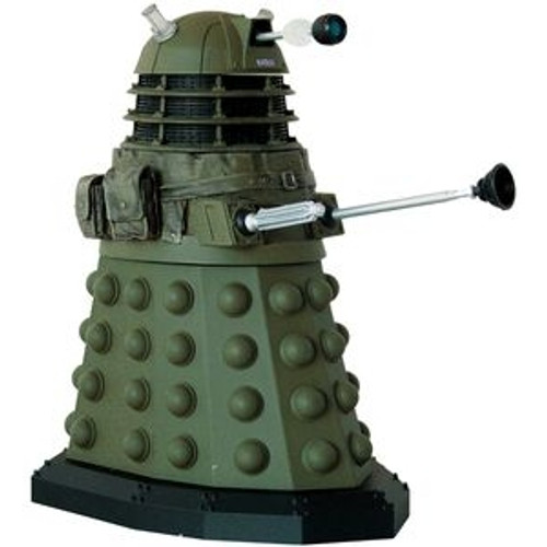 Doctor Who New Series - IRONSIDE DALEK (WITH Blackout Light Covers) - Series 5 Action Figure - Character Options